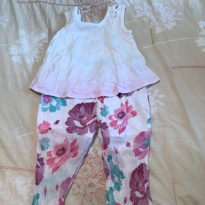 Girls Toddler 3T Old Navy two piece summer outfit